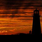 A Lover's Sunset - Peggy's Cove, NS by Atlantic Dreams