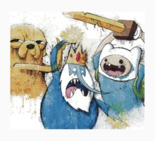 Adventure Time Finn and Jake and IceKing by GetKrooomed