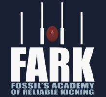 FARK Fossils Academy Of Reliable Kicking Sam Newman by movieshirtguy