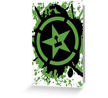 AH Splatter Greeting Card