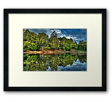 """""""Let Us Reflect"""" - Marysville - Yarra Ranges - The HDR Experience Framed Print"""