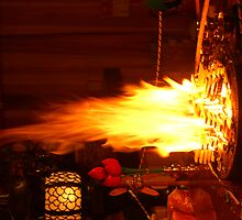 Buddhist Fire, Japan by tmac