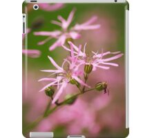 Ragged Robin Wildflowers iPad Case/Skin