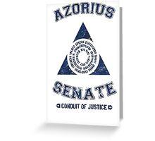 Azorius Senate Guild Greeting Card
