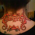Neck Tattoo by DreddArt