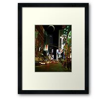 Night in the City III Framed Print
