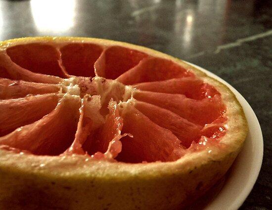 Grapefruit.  by RachelLea