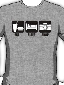 Eat Sleep Snap T-Shirt