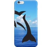 Tribal Sea Life - Dolphin iPhone Case/Skin