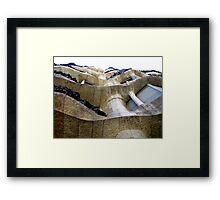 Dry Waves Framed Print