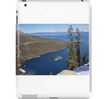 Emerald Bay From Way Above iPad Case/Skin