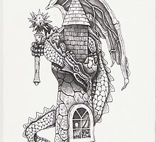 Castle Dragon by Mark  Monley