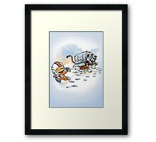 Attack of the Deranged Killer Snow Walkers Framed Print