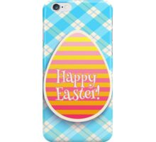 Easter card iPhone Case/Skin