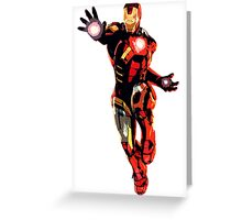 Iron Man Flight Greeting Card