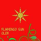 Flamenco Sun Ole!!! by JoAnnFineArt