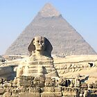 Sphinx, Giza by Sheila Laurens