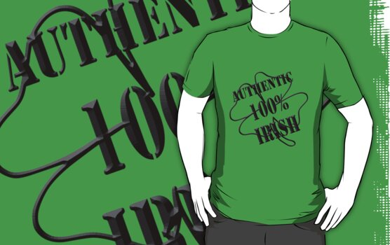 Authentic 100% IRISH by mobii