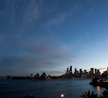 Panorama Of Sydney Harbour by MiImages
