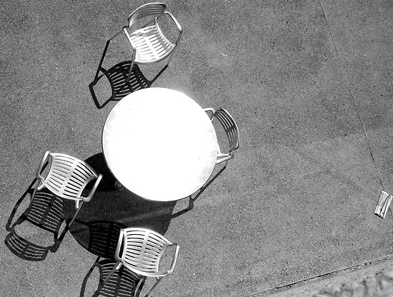 Table and Chairs by Brian Humek