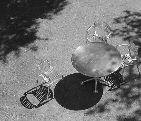 Table and Chairs Part Deux by Brian Humek