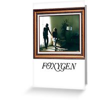 Foxygen - And star power Greeting Card
