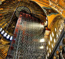 Hagia Sophia, Istanbul: In Recovery  by toby snelgrove  IPA