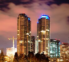 Bellevue Skyline I by Peter Nielsen