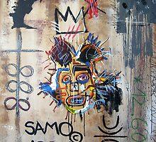 In memory Basquiat by Bela-Manson