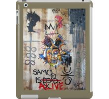 In memory Basquiat iPad Case/Skin