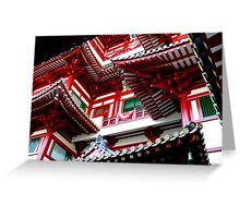 Buddha Tooth Relic Temple Greeting Card