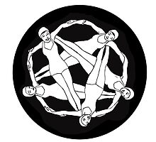 Pentagram Swimmers by jwisdom
