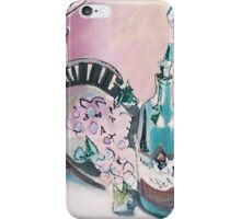 STILL LIFE WITH WINE MAN(C1995) iPhone Case/Skin