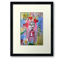 Untitled (love) Framed Print