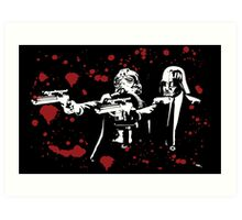 "Darth Vader - Say ""What"" Again! Version 2 (Blood Splatter) Art Print"
