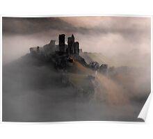 Corfe Castle, Dorset. Poster