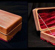 'Walnut Jewelry Box' by Scott Bricker