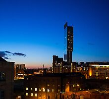 Old and new Manchester by cottoncreative
