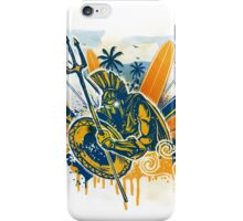 poseidon surfer aggression iPhone Case/Skin
