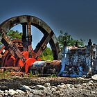 HDR of Old Steel Mill by Jesse Simmers