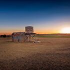 As the sunsets - Kanmantoo, South Australia by Mark Richards