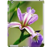 Wild Iris Flower iPad Case/Skin
