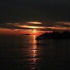Adriatic Sunset by erwina