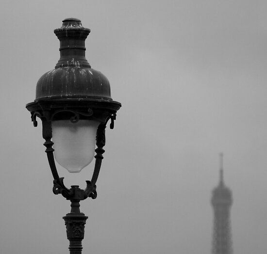 paris lamp by GlennC