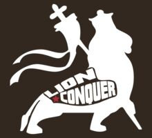 LION CONQUER WHITE by Indayahlove