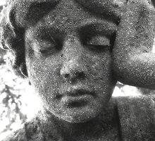 Woman Statue Black&White by TLWhite