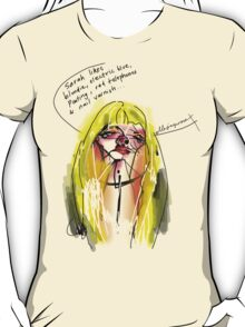 Faux Portrait of a Prostitute #5 T-Shirt