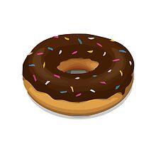 Doughnut Apple / WhatsApp Emoji by emoji