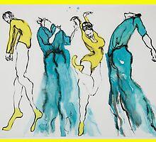 4 Dancers by pobsb