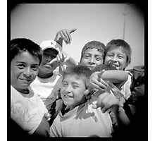 Peruanitos Photographic Print